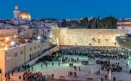 Izrael - Tel Aviv letecky na 4 dny, polopenze