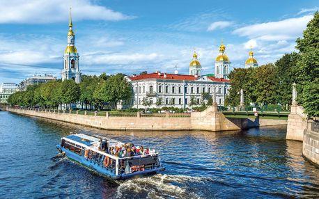 Rusko - Petrohrad letecky na 6 dnů, snídaně v ceně