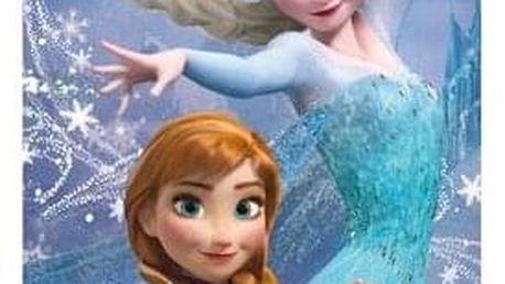 Jerry Fabrics Osuška Ledové Království Frozen Magic, 70 x 140 cm