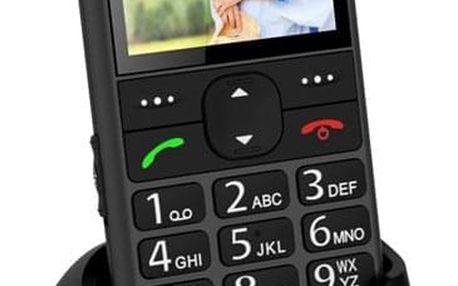 Mobilní telefon CPA Halo 11 Senior šedý (TELMY1011GR)