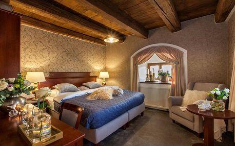Odpočinková noc na zámku v zařízení The Granary