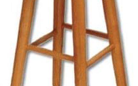 Barová stolička KT242 masiv ořech