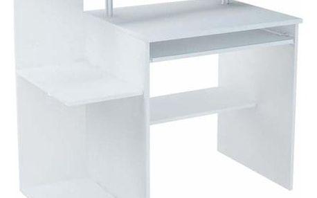 Počítačový stůl MARKO Bílá