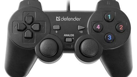 Defender Omega pro PC černý (64247)