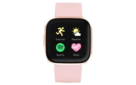 Fitbit Versa 2 (NFC) - Petal/Copper Rose (FB507RGPK)