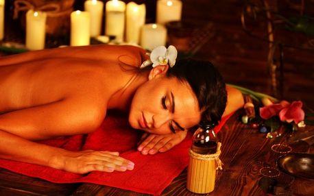Thajská masáž a reflexologie chodidel na míru
