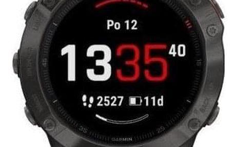 GPS hodinky Garmin fenix6 Sapphire (MAP/Music) černé/šedé (010-02158-11)