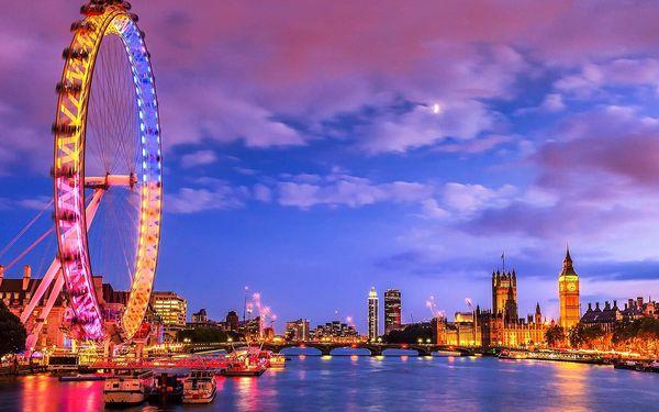 Silvestr v Londýně | 1 osoba | 4 dny (1 noc) | Po 30. 12. 2019 – Čt 2. 1. 20202