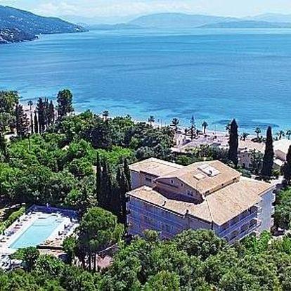 Řecko - Korfu letecky na 8-12 dnů, snídaně v ceně