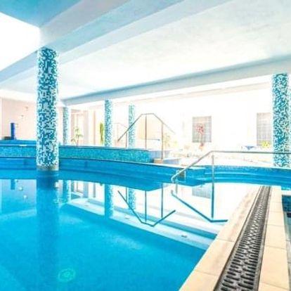 Trenčianske Teplice ve Vile Anna **** s wellness, bazénem Grand a polopenzí