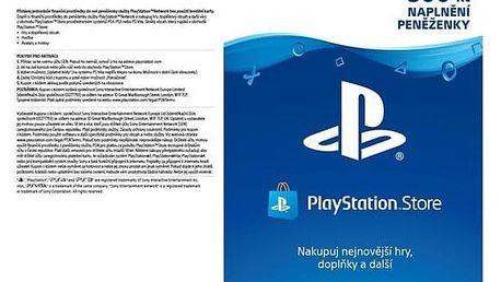 Předplacená karta Sony PlayStation Live Cards 500Kč - pouze pro CZ PS Store (PS719894339)