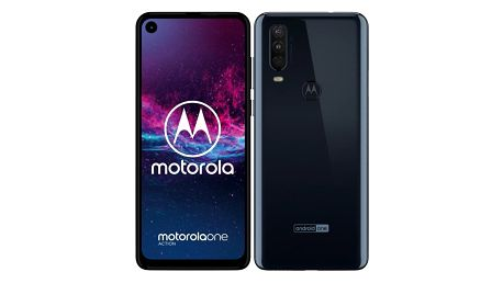 Motorola One Action modrý (PAFY0005PL)