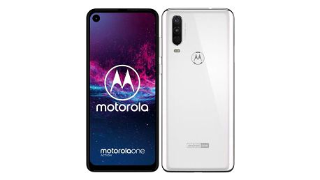 Motorola One Action bílý (PAFY0006PL)