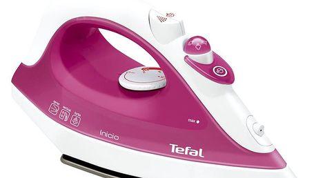Žehlička Tefal FV1243E0 Inicio růžová
