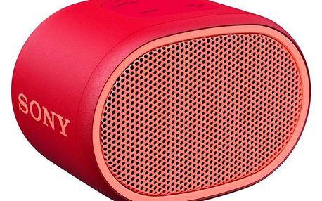 Sony SRS-XB01 červený (SRSXB01R.CE7)
