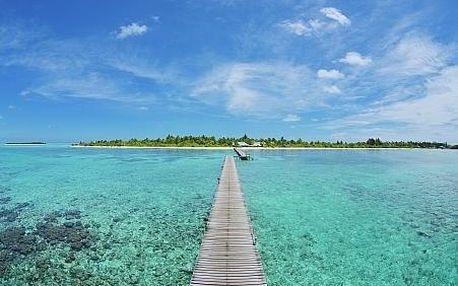Maledivy letecky na 9 dnů, plná penze