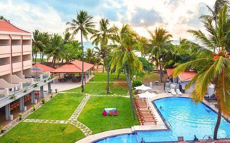 3* Paradise Beach Resort na Srí Lance s polopenzí