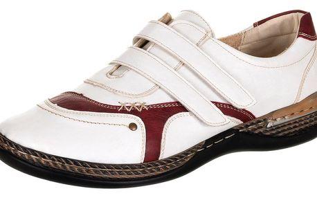 AKCE- Feixu Dámské polobotky pro široké nohy na suché zipy - vel. 37,38