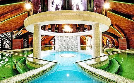 Zalakaros ve 4* hotelu Park Inn s neomezeným vstupem do termálů a all inclusive v ceně