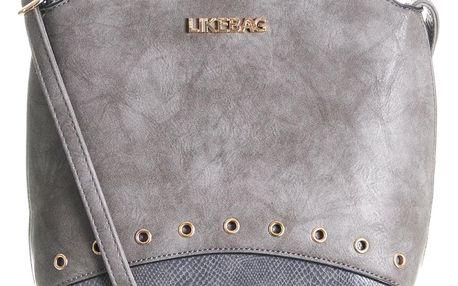 LIKEBAG Malá kabelka s cvočky přes rameno