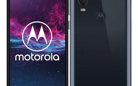 Motorola One Action modrý (PAFY0005PL)