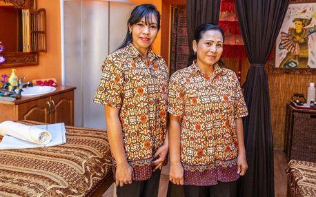 Exotická thajská masáž dle vašeho výběru