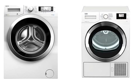 Set (Sušička prádla Beko DS7534CSRX1) + (Automatická pračka Beko Superia WMY 71243 CS PTLMB1) + DOPRAVA ZDARMA