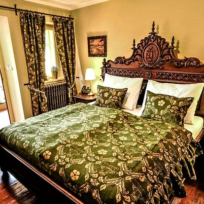 Luxusní historický hotel v Krumlově s wellness