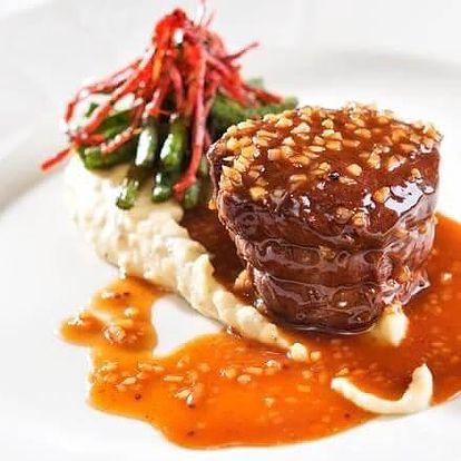 Degustační večeře v restauraci Piano Nobile