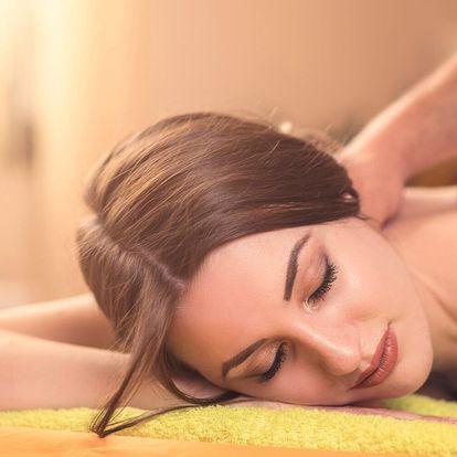 Sportovní a relaxační masáž: 60 nebo 90 minut