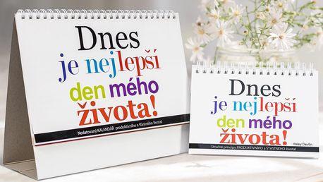 Dnes je nejlepší den mého života: kniha i kalendář
