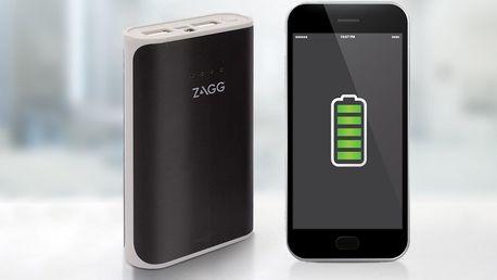 Powerbanka Zagg s kapacitou 6000 mAh