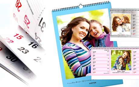 Nástěnné a stolní fotokalendáře