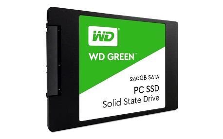 Western Digital Green 2.5'', 240GB, SATA/600, 7mm, 3D NAND (WDS240G2G0A)