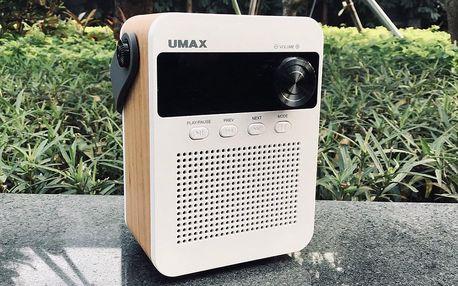 Multifunkční přenosné rádio s bluetooth i USB