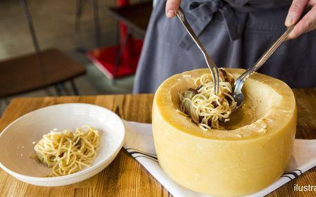 Spaghetti: dětské nebo výběr z 5 druhů pro 2