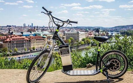 Projížďka Prahou na e-scooteru