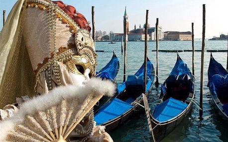 Itálie - Benátky autobusem na 3 dny, strava dle programu