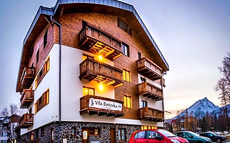 Vysoké Tatry: Tatranská Lomnice ve vile od zimy až do léta + 1 dítě do 5,9 let nebo 2 děti do 17,9 let zdarma