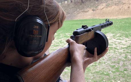 Zážitková střelba ze zbraní Rudé armády