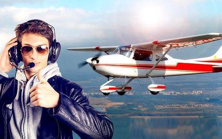 Vzhůru do oblak: 20-60 minut pilotem na zkoušku