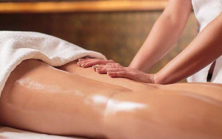 Anticelulitidová masáž se zábalem a lymfodrenáží