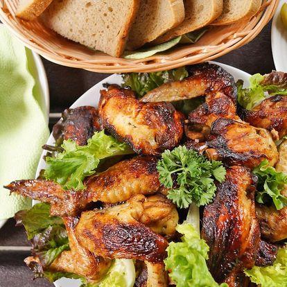 Kuřecí hostina pro partu: řízky nebo křídla