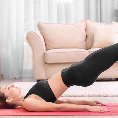Měsíc online pilates: cvičte z pohodlí domova