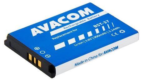 Baterie Avacom pro Sony Ericsson K750, W800 Li-Ion 3,7V 900mAh, (náhrada BST-37) (GSSE-K750-900)