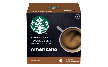 Kapsle pro espressa Starbucks MEDIUM HOUSE BLEND 12Caps