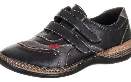 Feixu Dámské polobotky pro široké nohy na suché zipy