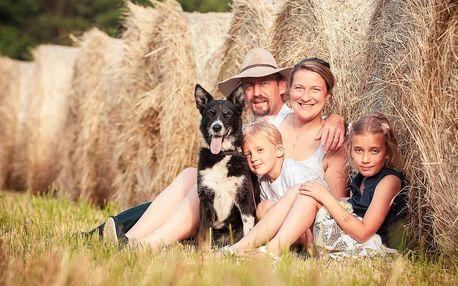 Párové či rodinné focení v přírodě nebo portrét