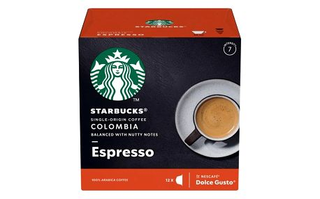 Kapsle pro espressa Starbucks MEDIUM ESPRESSO COLOMBIA 12Caps