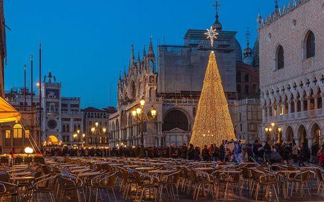 3denní adventní zájezd do Benátek